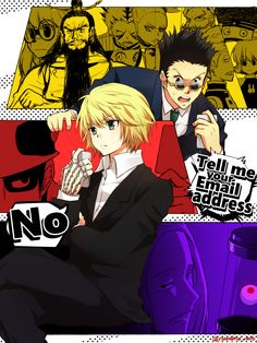 Hunter x Hunter Dark Continent. Haha Leorio looks younger in here :3