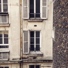 Our #cozy little #view from our cozy little #hotel room. #Paris #France #Pdxtoparis