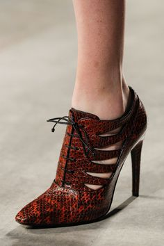 shoes @ Bottega Veneta Fall 2014