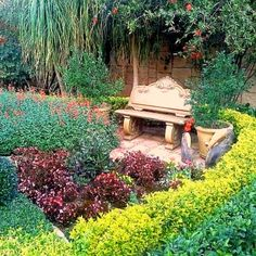 Garden Bridge, Garden Landscaping, Garden Design, Gardens, Outdoor Structures, Landscape, Front Yard Landscaping, Scenery, Outdoor Gardens