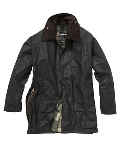 Recommended classic country jacket - Barbour's Beaufort. £220.