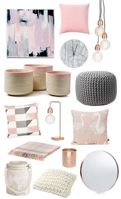 Give pink a modern twist    Take pink from girly to elegantly chic by pairing it back ...