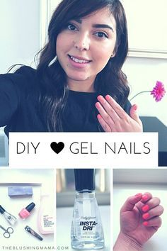 DIY: Gel-Looking Nails at Home Getting professional gel nails can get expensive…