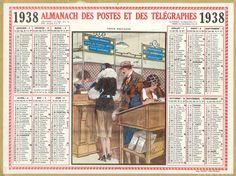 Almanach des Postes 1938