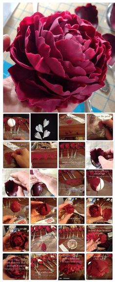 Edible Art. fondant flower