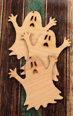darling Halloween ghost ornaments