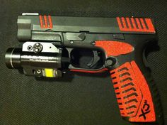 xdm .40 Great gun, my brother has this caliber, I have the 9mm.Love it..