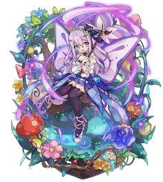梅露可图鉴 [花傘の紫彩蝶] ルジェナ