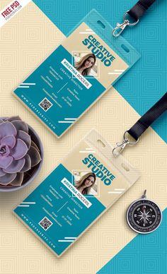 Office Photo Identity Card Free PSD is a designed for any types of agency, corporate and small big companies. Very easy to customized. Name Tag Design, Id Card Design, Id Design, Badge Design, Business Card Design, Identity Card Design, Stationery Design, Employee Id Card, Lanyard Designs