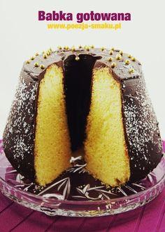 Babka gotowana (Boiled Pound Cake - recipe in Polish)