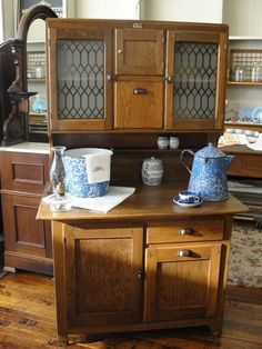 Beau Antique Boone Oak 2 Piece Kitchen Cabinet Vintage Kitchen Cabinets, Antique  Cabinets, Antiques,