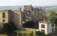 View of Hardwick Old Hall, Derbyshire