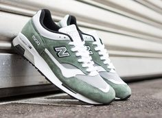New Balance 1500 Green/Grey/White
