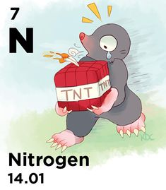 N - Sodium azide is used to rapidly inflate your car's airbag Chemistry, Periodic Table, Family Guy, Guys, Board, Fictional Characters, Periodic Table Chart, Periotic Table, Fantasy Characters