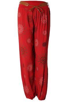 #Sommerhose im Aladin Look mit passenden Gürtel jetzt günstig online kaufen