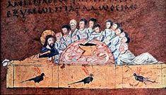 Calabria-Arte e Cultura-Codex Purpureus Early Christian, Christian Art, Gospel Of Luke, The Catacombs, Roman History, Last Supper, The Kingdom Of God, New Testament, Jesus Christ