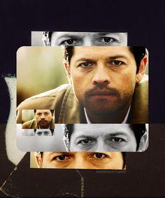 Supernatural...Castiel...Misha Collins http://laylablack.tumblr.com/ #