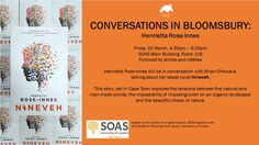 In conversation with Brian Chikwava at SOAS, 10 March 2017 10 March, Bloomsbury, Conversation, Rose, Pink, Roses