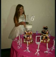 Cake table P Sweet 16