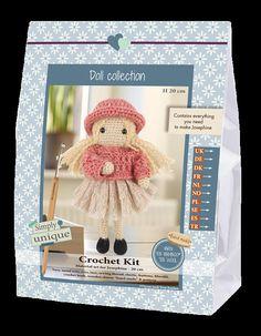 Kit Uncinetto Bambola Josephine Crochet Collection