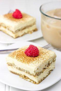 This Caramel Chai Tiramisu is a fun twist on a classic Italian dessert!