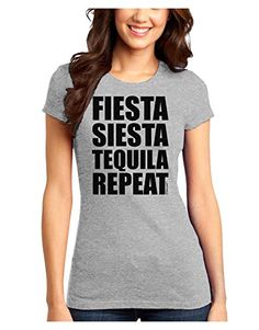 TooLoud Fiesta Siesta Tequila Repeat Juniors T-Shirt - Ash Gray - Medium TooLoud http://www.amazon.com/dp/B00VUIZ95C/ref=cm_sw_r_pi_dp_.eSOwb1S9AN32