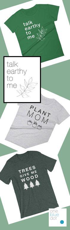 Environmental Shirts, Plant Lover, Environmental Lover, Earth Shirts, Earth Lover, Plant Lover Gifts, Earth Day