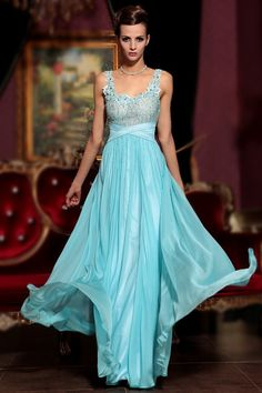 Buy 2013 Prom Dresses Instock Blue A Line V Neck Chiffon Floor Length30775 latest design at online stores, high quality of cheap wedding dresses, fashion special occasion dresses and more, free shipping worldwide.