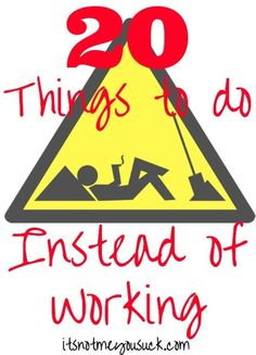 20 Things to do Inst