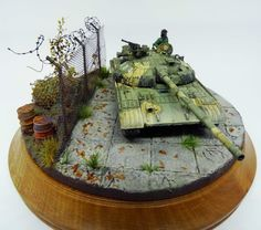 T 64 Modelcollect T 64, Division, Kit, Dioramas, Circle Lenses