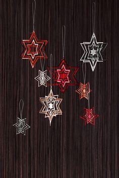 Le stelle 3D per dare un tocco di magia in più al Natale.