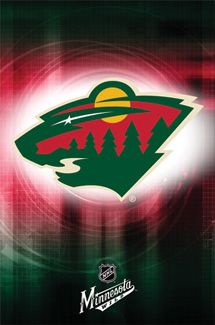 Minnesota Wild Official NHL Team Logo Poster