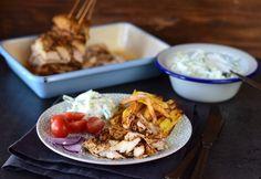 6 nagyszerű gyros-tál, amit otthon is el tudsz készíteni Hamburger, Tacos, Mexican, Lunch, Chicken, Meat, Ethnic Recipes, Food, Cilantro