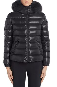 online shopping for Moncler Badyfur Quilted Down Puffer Jacket Removable Genuine Fox Fur Trim from top store. See new offer for Moncler Badyfur Quilted Down Puffer Jacket Removable Genuine Fox Fur Trim Coats For Women, Jackets For Women, Clothes For Women, Spring Jackets, Winter Jackets, Moncler Jacket Women, Fox Fur, Puffer Jackets, Fur Trim