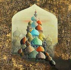 Iraqi art by Iraqi artis Ali Hashem الفنان التشكيلي العراقي علي هاشم