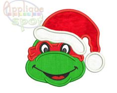 Mickey Silhouette Christmas Hat 7 sizes included: by AppliqueSpot