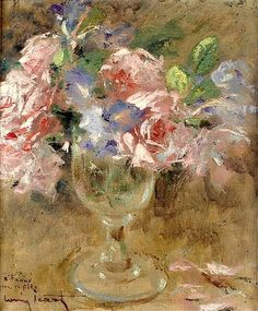Louis-Icart-Roses-and-Iris