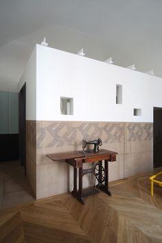 machine a coudre sculpture chambre contemporaine uda marcante testa  decoration