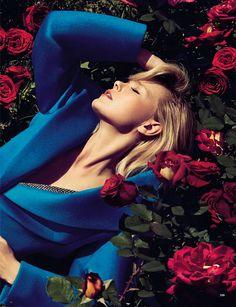 Glamour Italia August 2013 : Girls  Roses