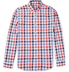 J.Crew Check Lightweight Cotton Shirt | MR PORTER