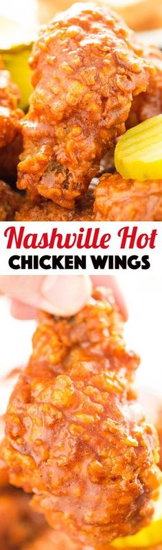 Nashville Hot Chicken Wings Recipe - The perfect spicy appetizer or game day recipe!