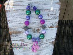 Skywishes Purple Little Pony Chunky by LittleDivaBubblegum on Etsy, $22.00