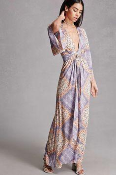 Selfie Leslie Kimono Maxi Dress