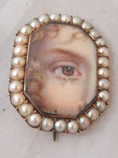 Lovers Eyes, Momento Mori, Eye Jewelry, Pearl Brooch, Mani, Interesting History, Fashion Poses, Portrait Art, As You Like