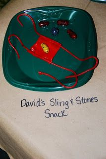 Life's a Bowl of Cherries: David's Sling & Stones Snack Craft
