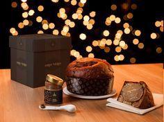 """#Panettone """"Oro Nero"""" gr 1000 #Fiasconaro - La lievitazione naturale ha origine nella """"madre"""", un nucleo di pasta fermentata a cui vengono aggiunte, progressivamente, acqua e farina. #Natale 2015."""
