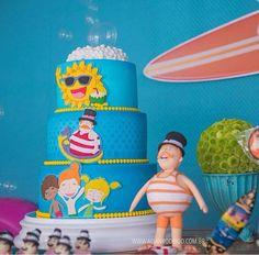 Birthday Cake, Party, Instagram Posts, Bolo Fake, Cakes, Ideas, Cake Ideas, Style, Fake Cake