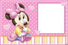 Convites da Minnie: 70 Inspirações Fofíssimas & Modelos para Imprimir Grátis