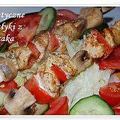 Dietetyczne szaszłyki z kurczaka