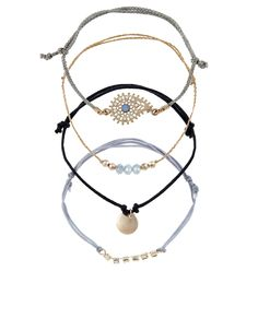 4 x Paisley Friendship Bracelets